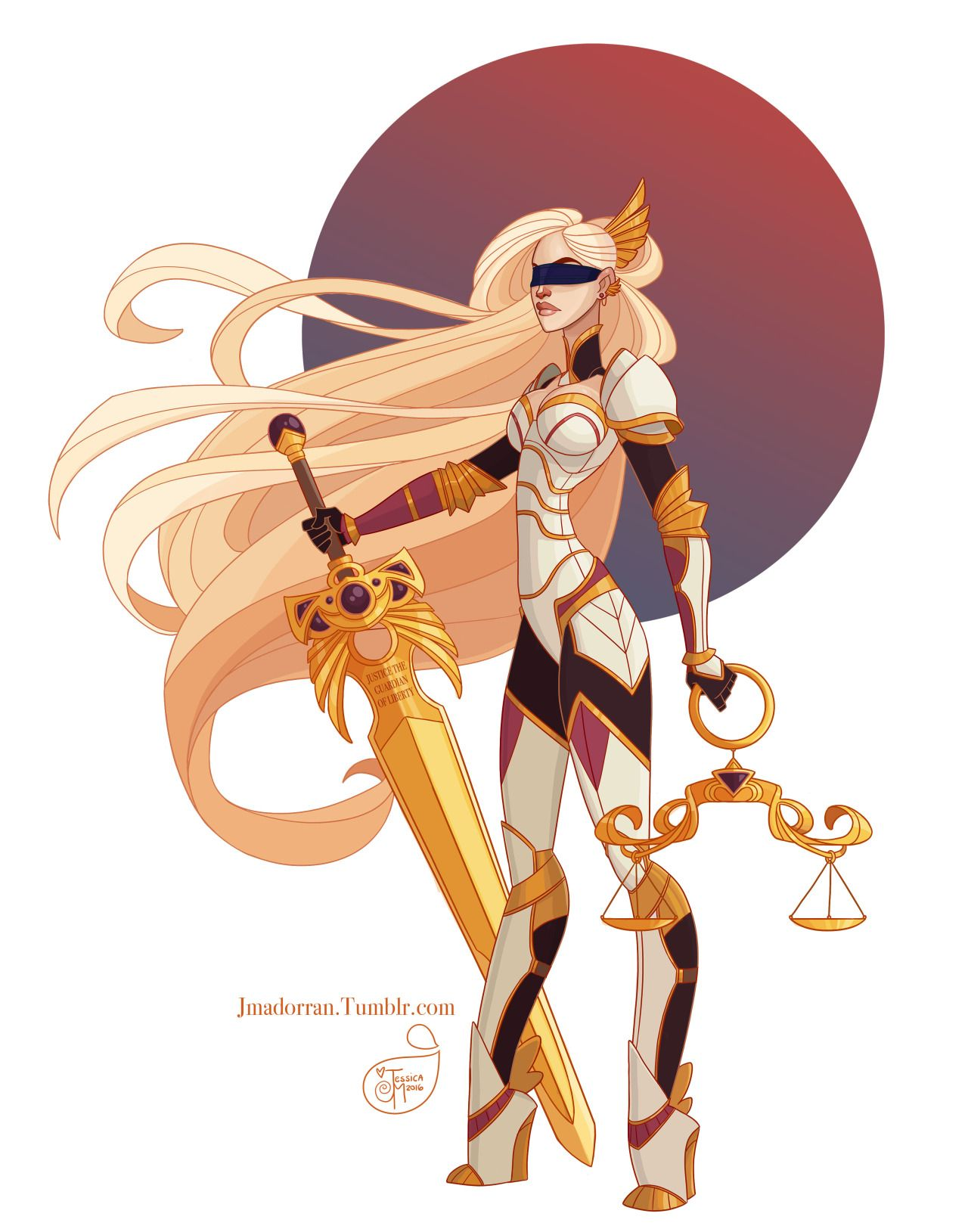 Commission For Client Of A Warrior Lady Of Justice -9722