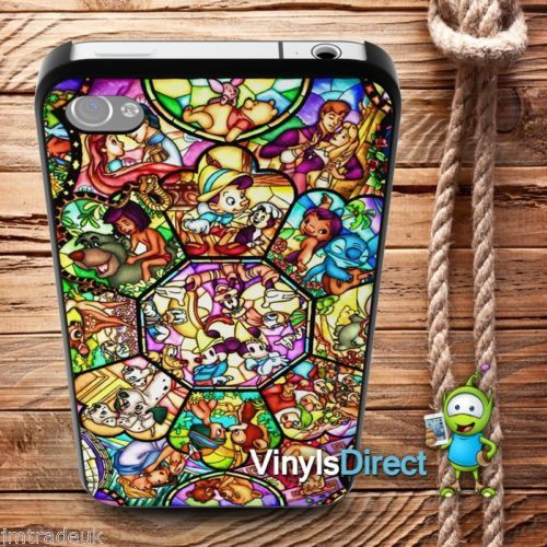 sale retailer 53ca1 a3178 Details about Disney Stained Glass Window Phone Case Mickey Mouse ...