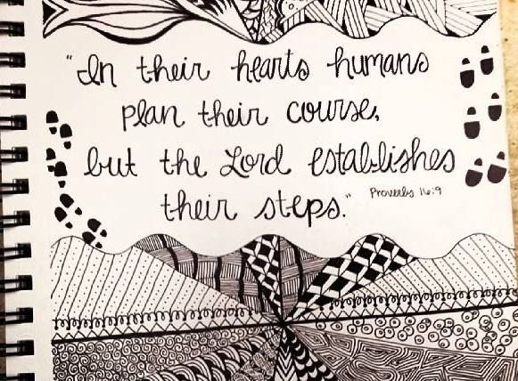 Inspirational art #zentangle #meditatingimages #pen #ink