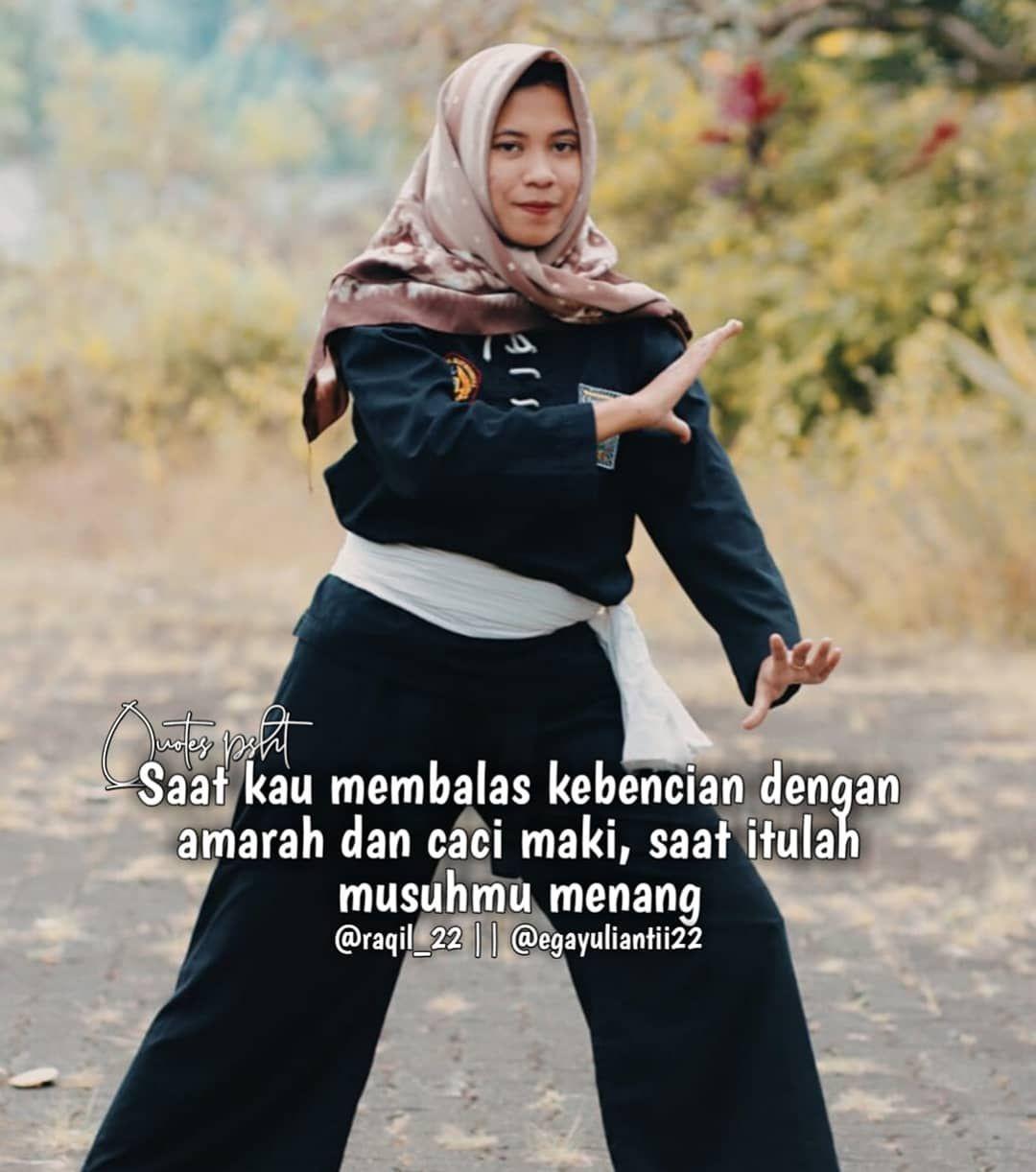 Quotes Psht Di Instagram Sabar Lan Nerimoo Pejuang Wanita Gaya Hijab Gaya