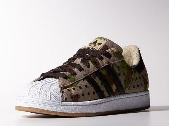 "huge discount bda51 be635 adidas Originals Superstar II ""Camo Dot"" Pack"