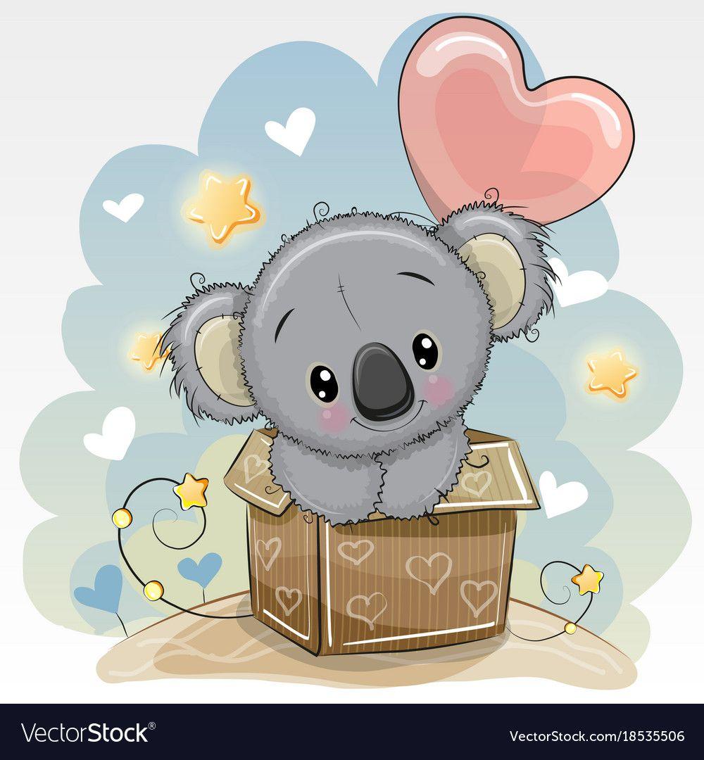 Картинки для, открытки с коала