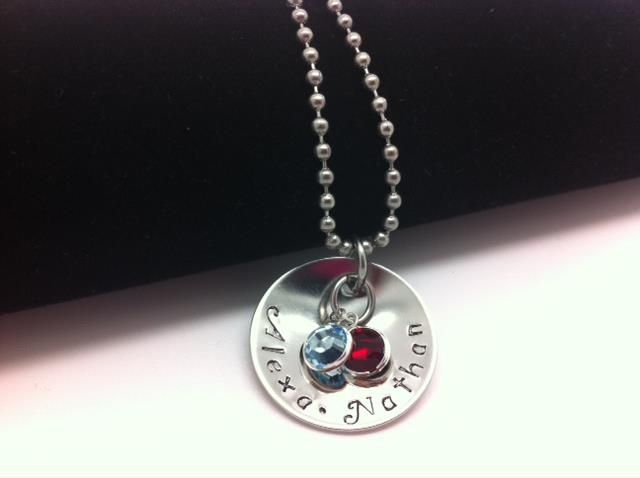 'Little Gems' Personalized Metal Hand Stamped Jewelry Must ...