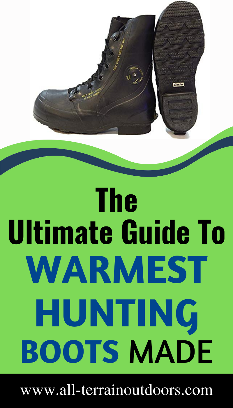 10 Warmest Hunting Boots Made: The