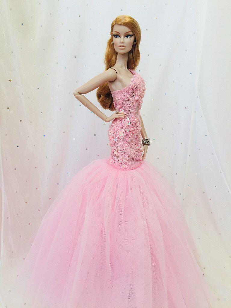 A simple Spell of Kindness ... OOAK Vanessa 1.0 | Barbie Prom Dress ...