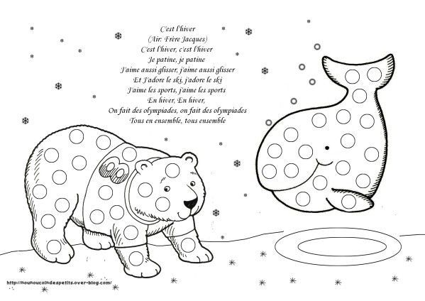 Pour l 39 hiver activit hivers pinterest animaux polaires hiver et polaire - Animaux pole nord ...