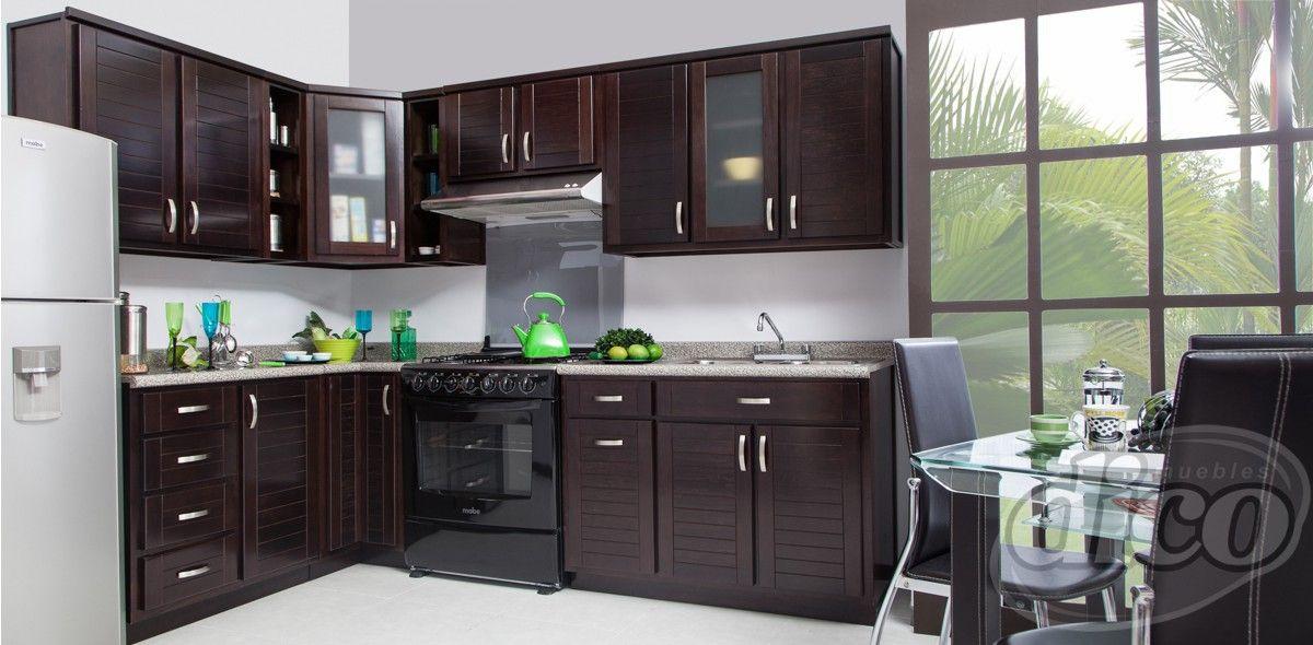 Star chocolate cocina escuadra cocina casa pinterest for Cocinas integrales en escuadra