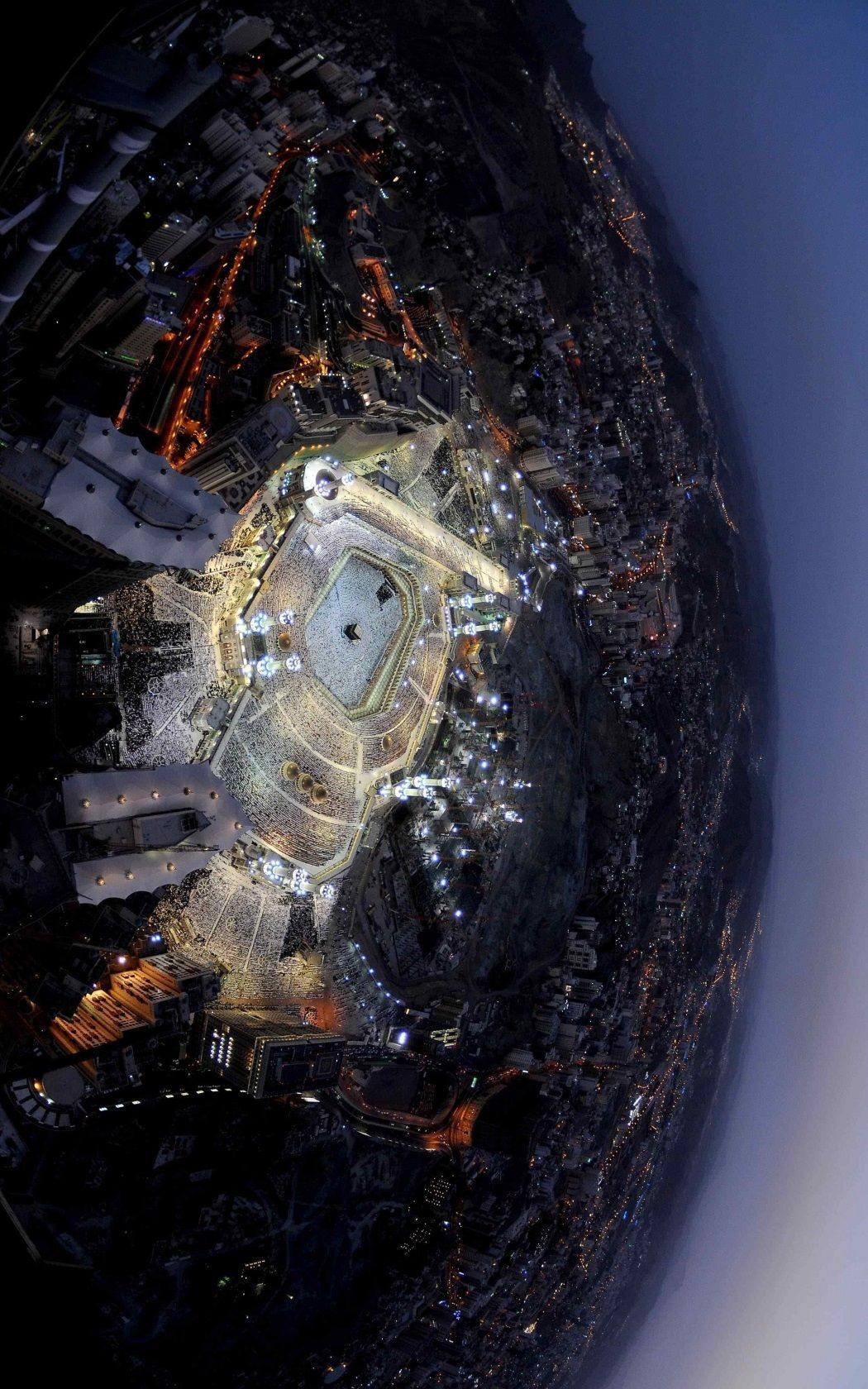 Kaaba From Space Nasa