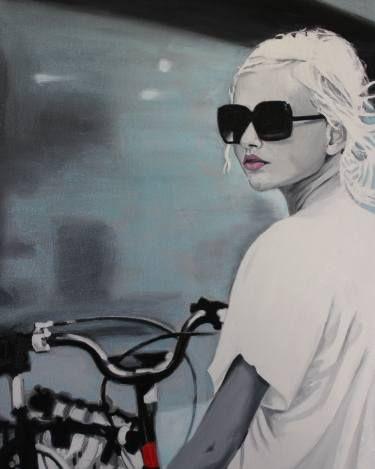 "Saatchi Art Artist Cindy Press; Painting, ""The Journey"" #art"