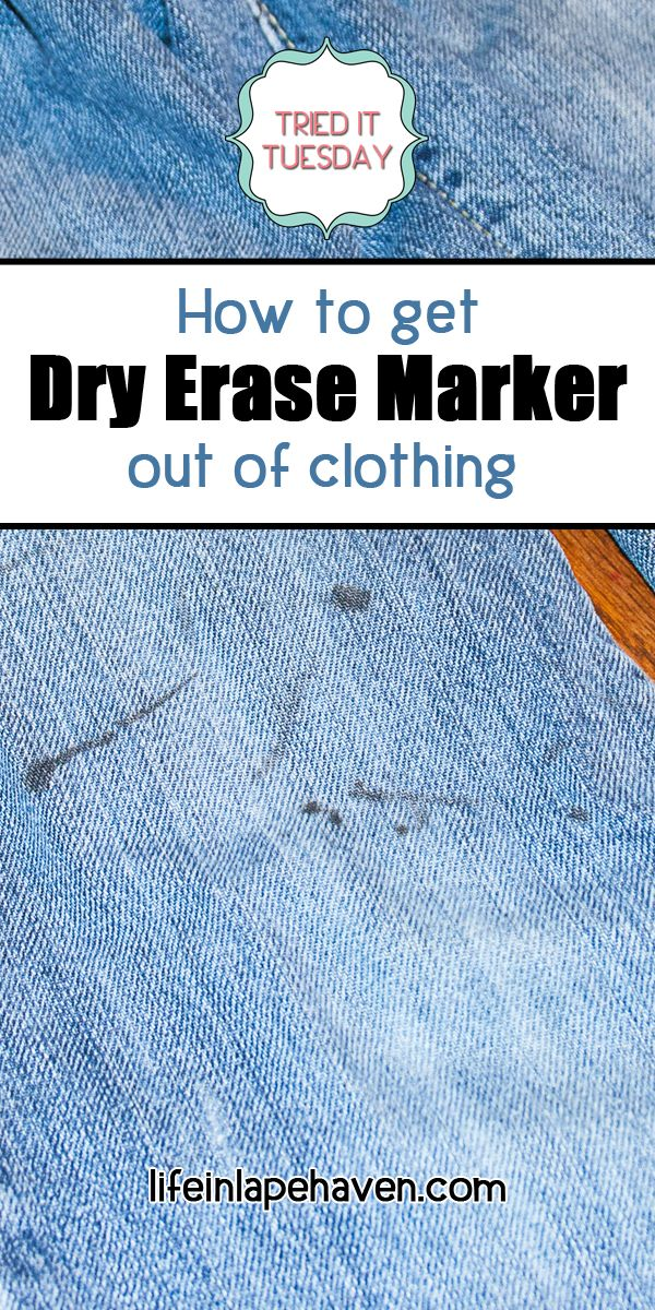 How To Get Dry Erase Marker Out Of Clothing Life In Lape Haven Dry Erase Markers Dry Erase Markers