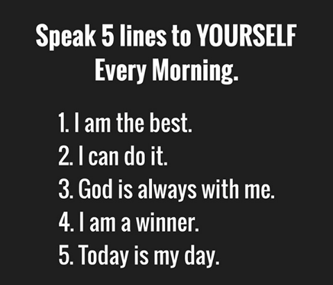 I Am The Best I Can Do It God Is Always With Me I Am A Winner Today Is My Day I Am A Winner Daily Inspiration Quotes Touching Words