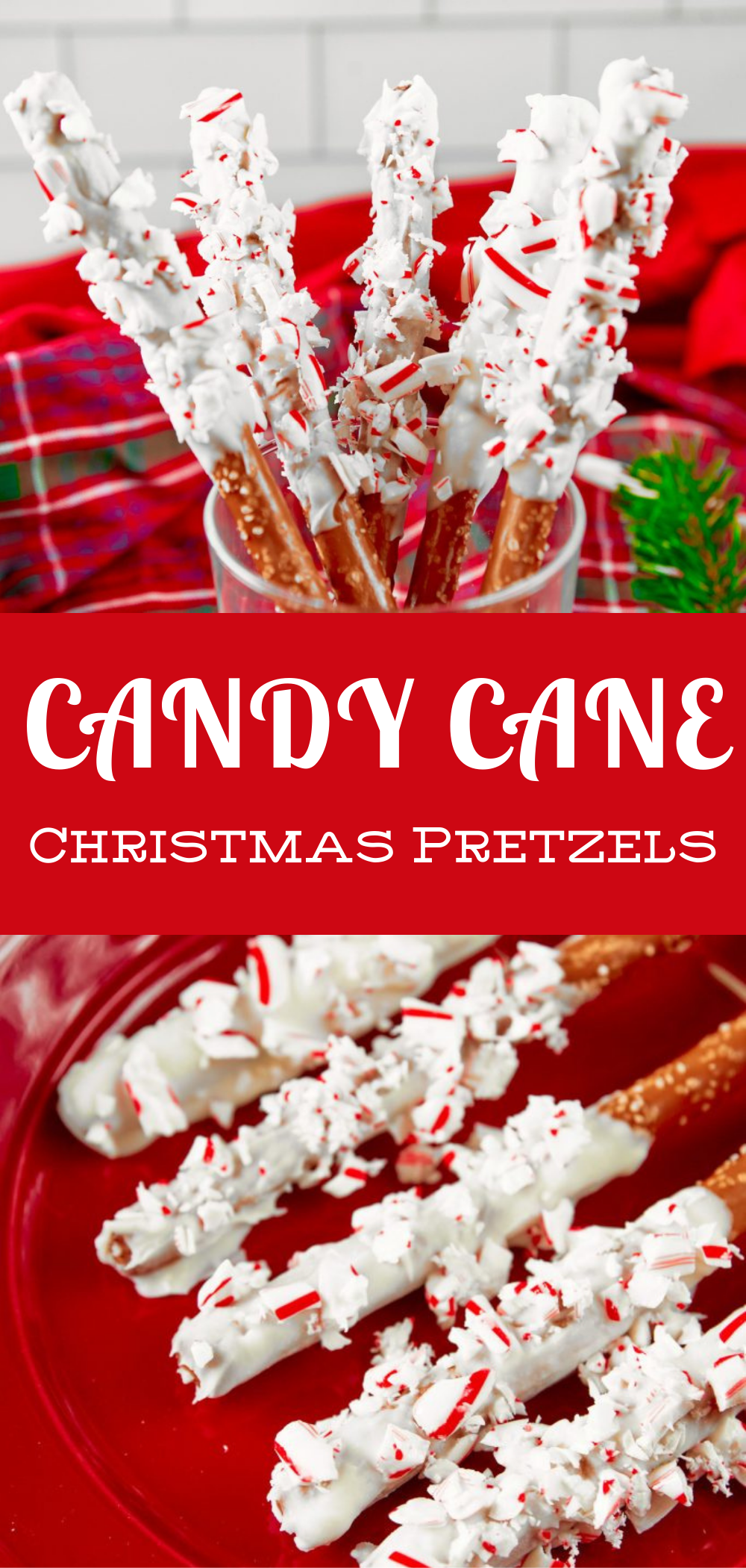 Candy Cane Christmas Pretzel Rods Wow It S Veggie Recipe In 2020 Best Christmas Recipes Christmas Party Food Holiday Recipes Christmas