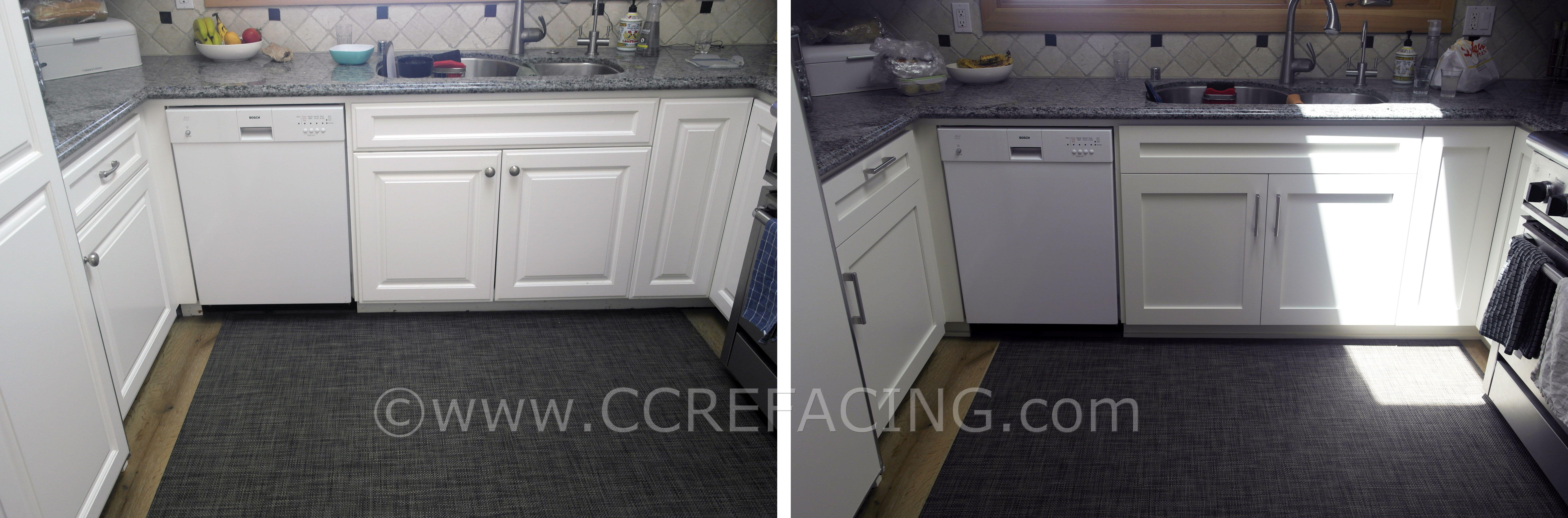 Los Altos Reface with White Shaker cabinet doors | Los Altos Reface ...