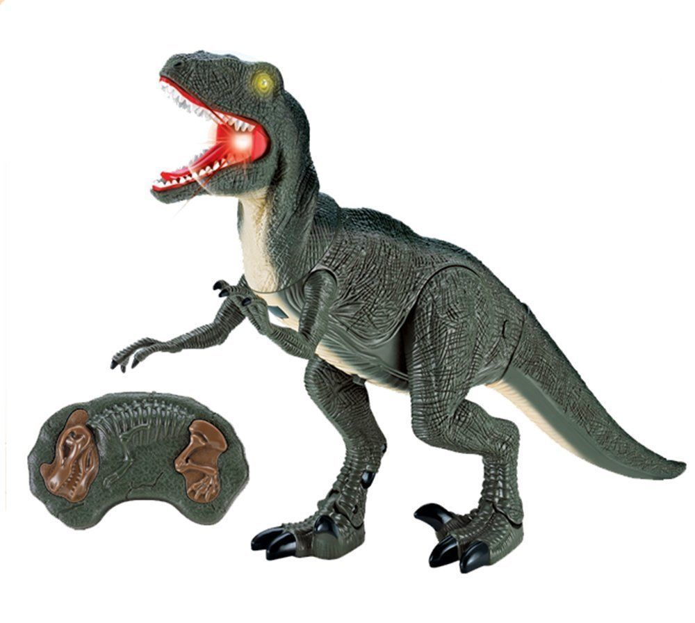 Wireless Remote Control Toy Dinosaur Velociraptor Rc