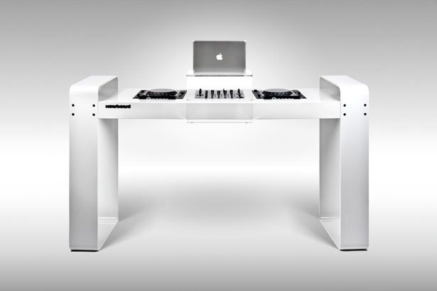 Want Spin Age DJ Table by Hoerboard & Want: Spin Age DJ Table by Hoerboard   Magnetic Magazine   Pinterest ...