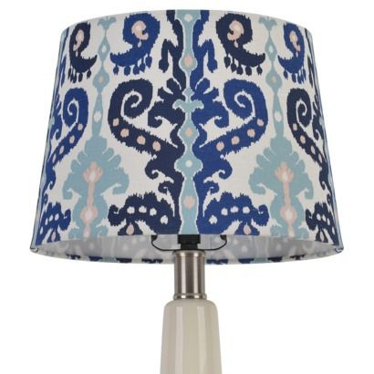 Threshold Ikat Lamp Shade Small Blue Large Lamp Shade Lamp Lamp Shade
