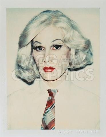 Andy Warhol in Drag, 1981 #andywarhol