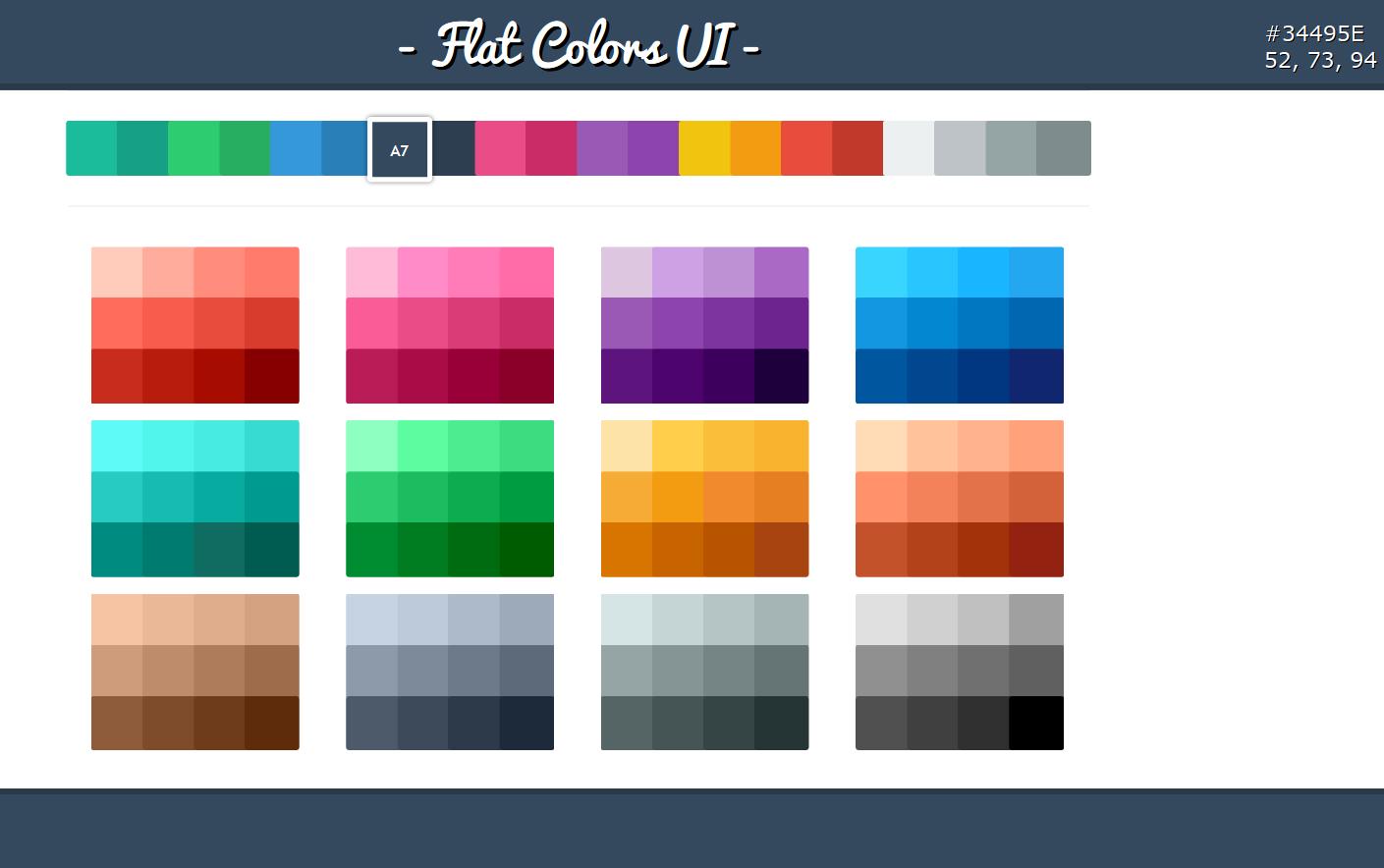 Graphic Design Trends-flat design