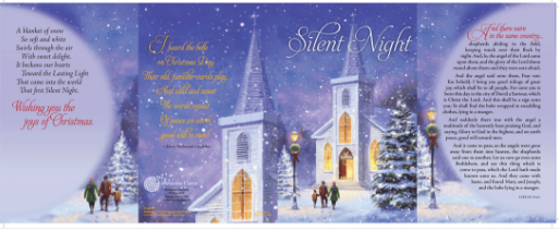 A set of 18 beautiful christmas greeting cards from someone cares guideposts silent night christmas greeting cards let you share the true meaning of christmas guideposts one of a kind christmas cards perfect for sending m4hsunfo