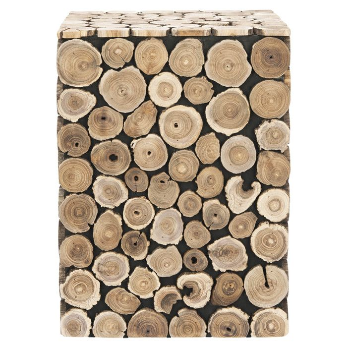 Jarrett Stool - awesome rustic accent piece