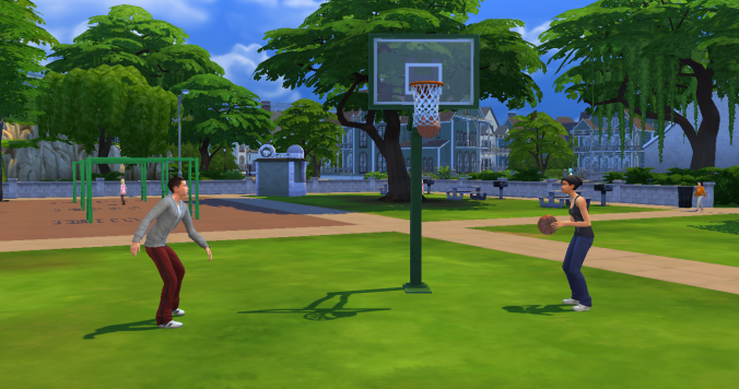 How To Get A Basketball Hoop In Sims 4