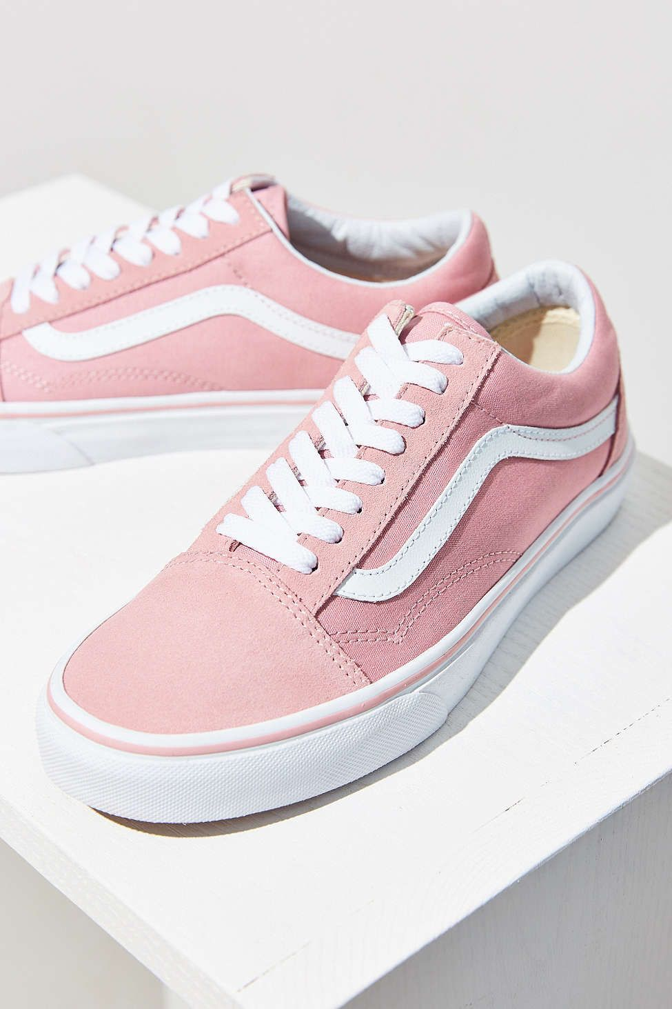 Vans Pink Old Skool Sneaker   Shoes   Pinterest   Vans  Urban     Vans Pink Old Skool Sneaker