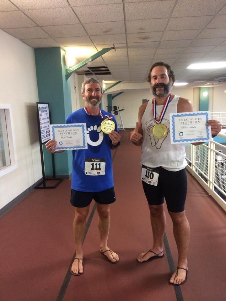 Barefoot running sandal biathlon- what do you do when you there isn't a race scheduled in your area?...