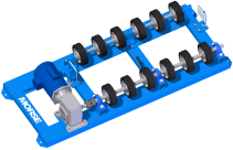 Stationary Drum Roller | Morse 55 Gallon Drum Roller | Drum