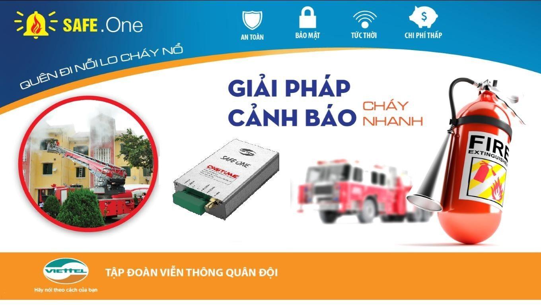 Trang Chủ Safeone Viettel Hệ Thống Bao Chay Thong Minh Quan đội Chạy