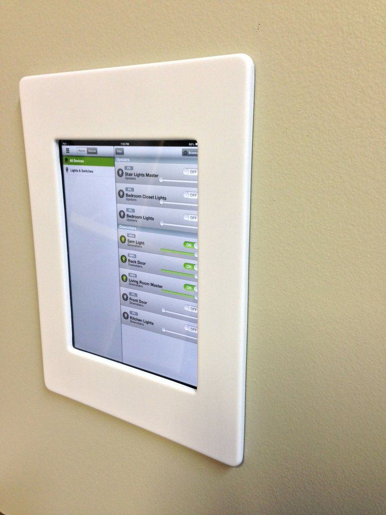 Ipad bathroom wall mount - Ipad Mini Wall Mount White Ipad Mini Wall Mount White Physical Computing Pinterest