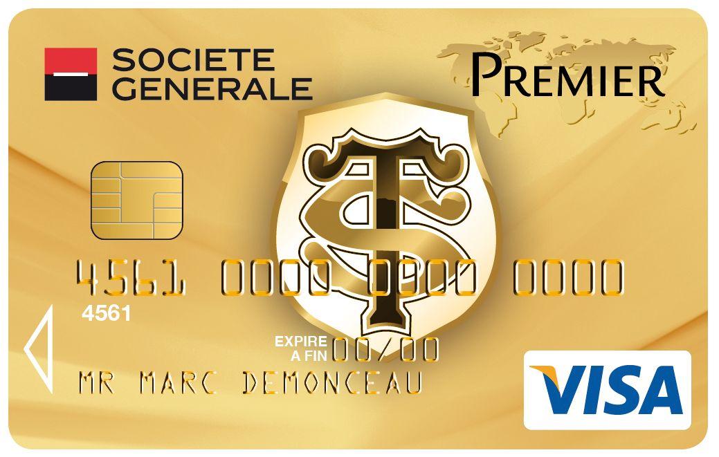 Carte Visa Premier Societegenerale Rugby Stadetoulousain
