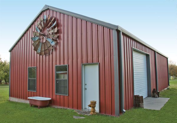 Best R Panel Mueller Inc Windmill On Barn Barndominium 400 x 300