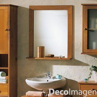 Espejo C  Repisa Para Baño Tamaño 0 463f4e5c0fc3