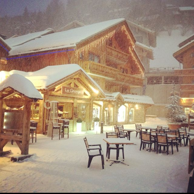 #Meribel, France is one of the best apres ski resorts.  love this town.