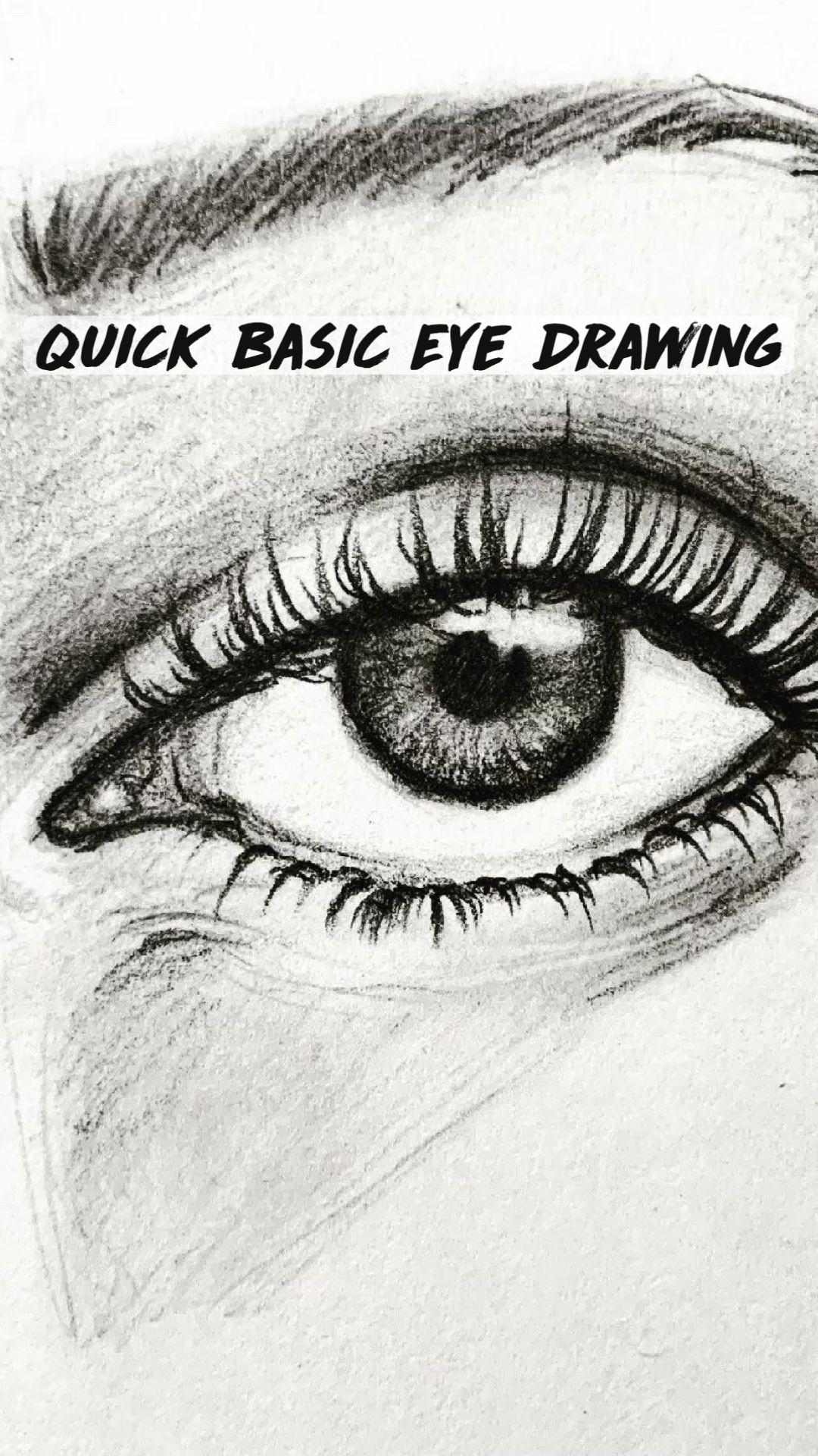 Photo of Quick Basic Eye Drawing