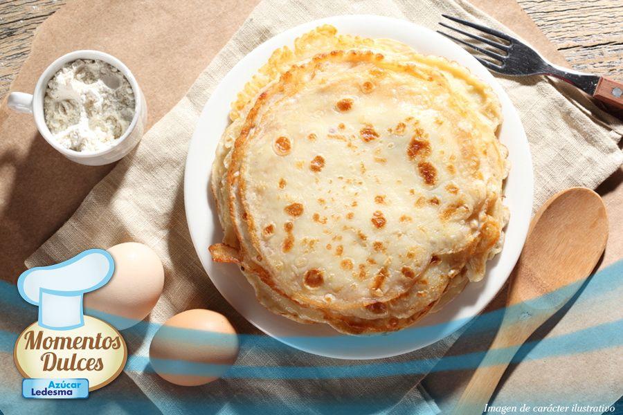 ¡Compartimos la receta de la usuaria AMINA: Panqueques! ¡Pueden comerlos con relleno dulce o salado, lo que más les guste!    Pueden encontrar la receta en www.azucarledesma.com.ar.