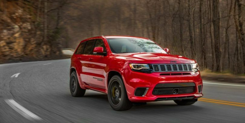 2018 Jeep Grand Cherokee Trackhawk Price And Interior Review Jeep Grand Cherokee Jeep Grand Cherokee Srt Jeep Grand