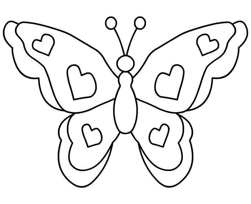 Butterfly Free Images At Clker Com Vector Clip Art Online Royalty Free Public Domain Butterfly Coloring Page Butterfly Drawing Butterfly Clip Art