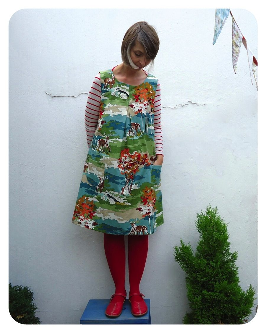 First frock I\'ve made from Happy Homemade Sew Chic by Yoshiko ...