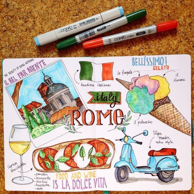 Wohin möchtest du diesen Sommer gehen?  #art #artwork #drawing # sketch #cantaps