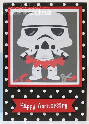 Star Wars Stormtrooper Anniversary Card Anniversary Cards Star