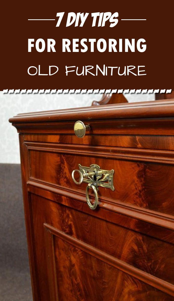 7 DIY Tips For Restoring Old Furniture