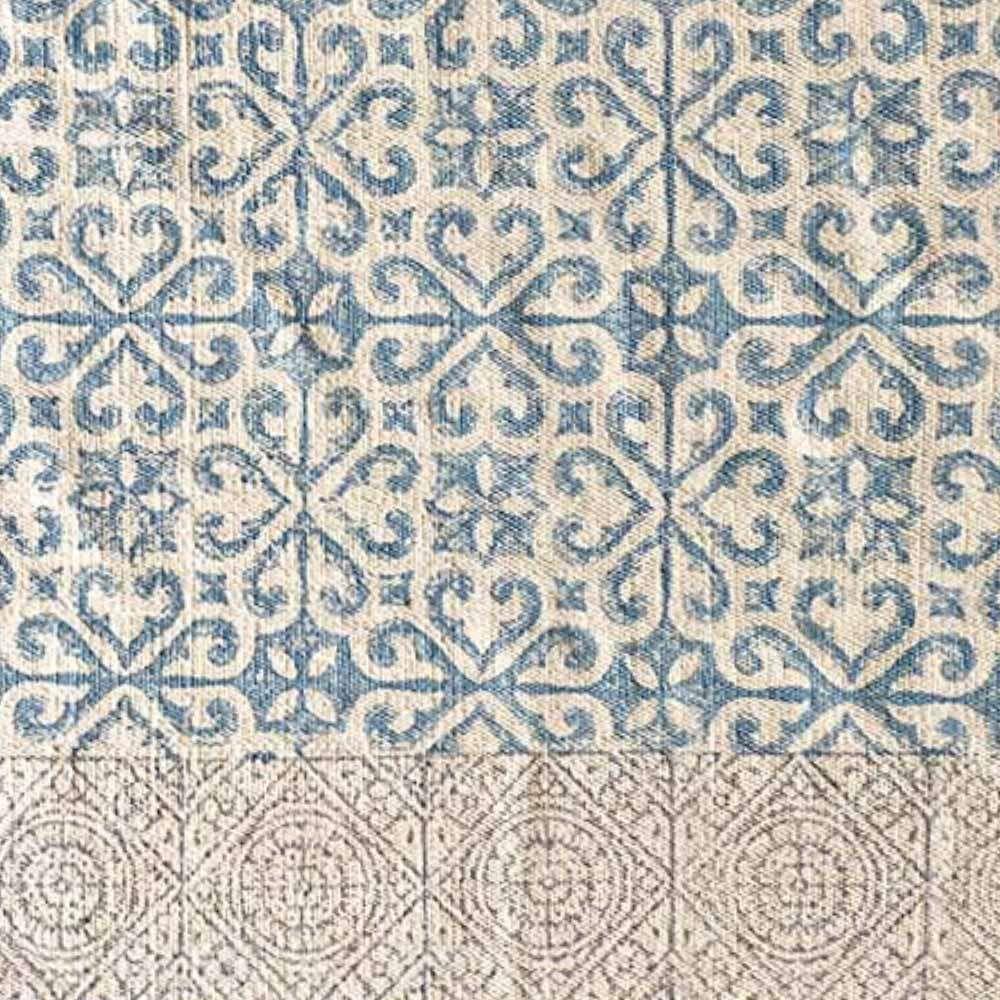 aus natrlicher baumwolle mit lssigen fransen und boho muster katapultiert sich der teppich gerne auf - Boho Muster