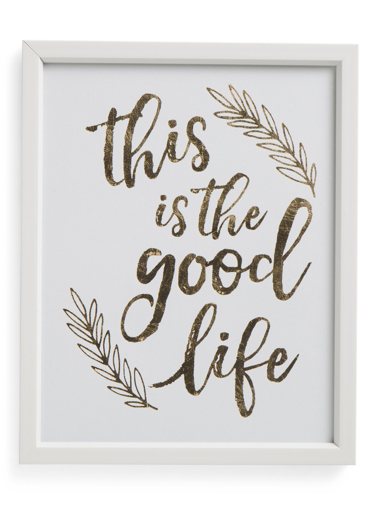 12x15 Good Life Framed Wall Art | Products | Pinterest | Framed wall ...
