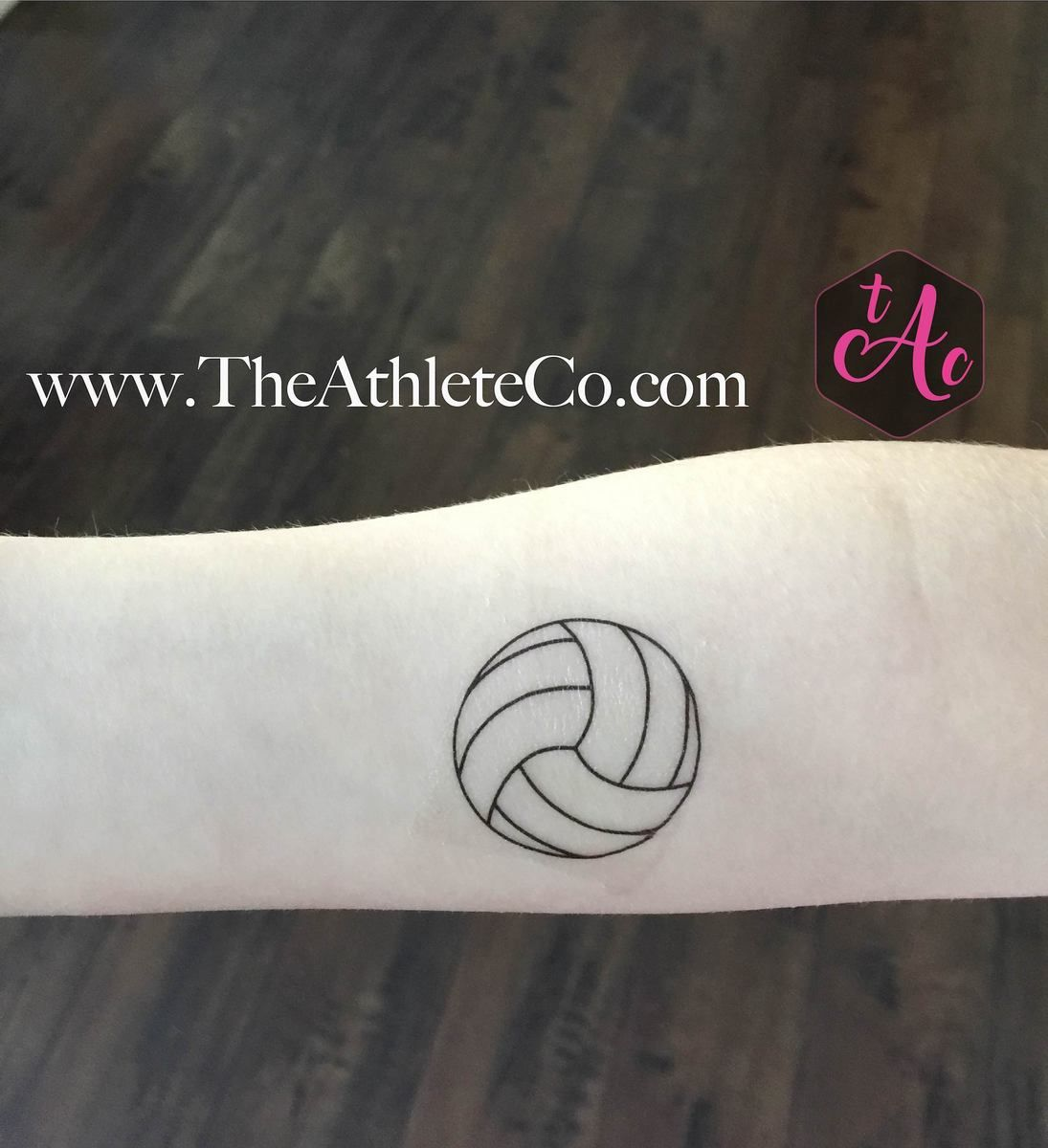 Volleyball Temporary Tattoos Volleyball Tattoos Volleyball Bff Tattoos