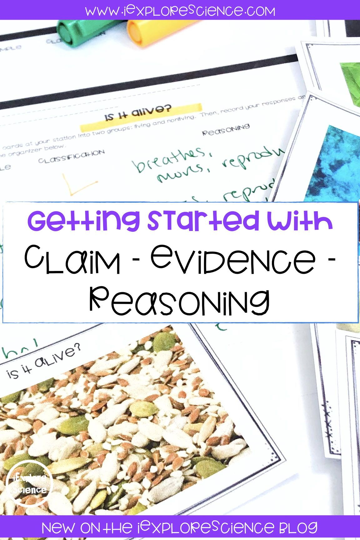 Claim Evidence Reasoning In Science