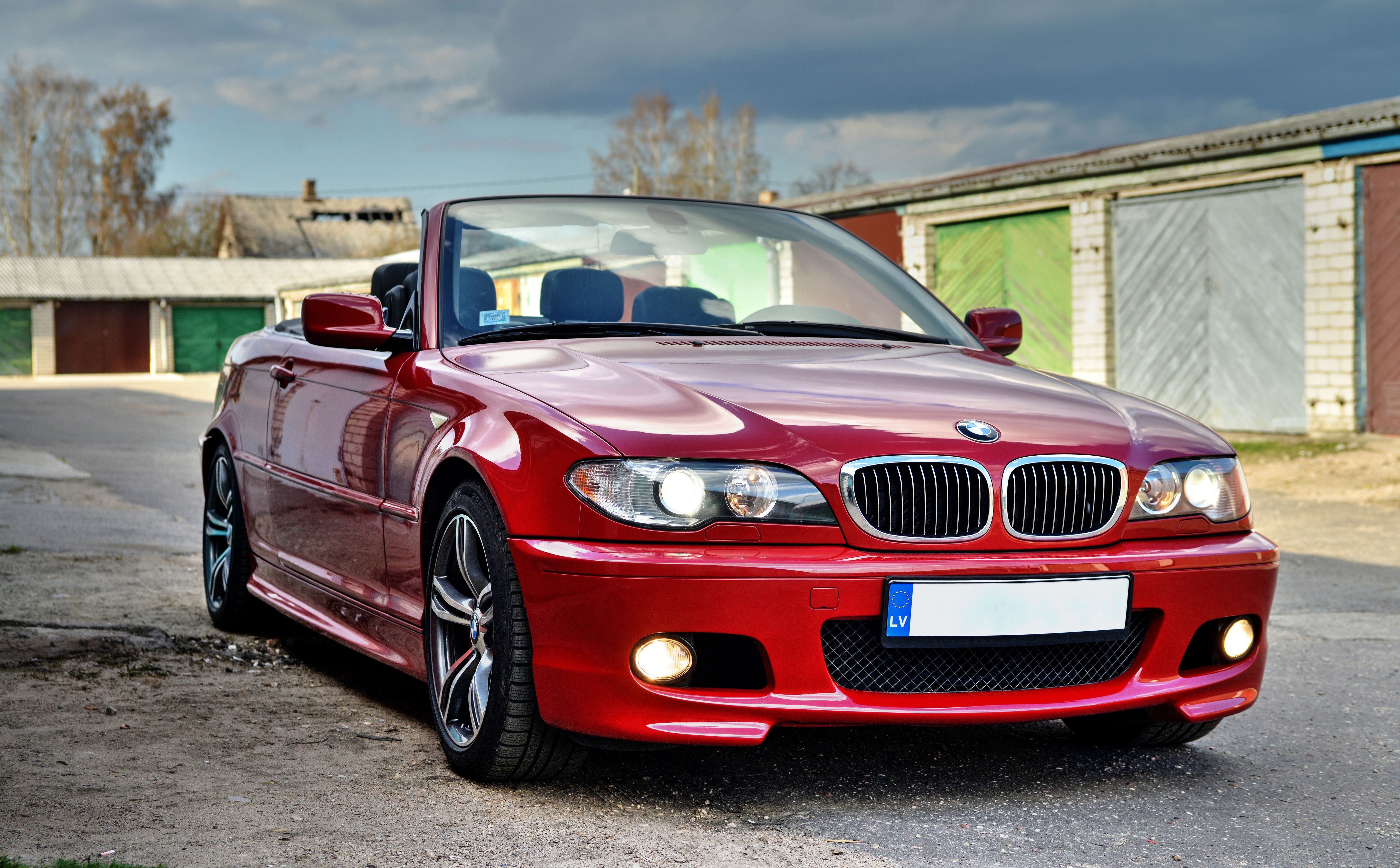 bmw e46 330 convertible m pack imola red ii beautiful. Black Bedroom Furniture Sets. Home Design Ideas