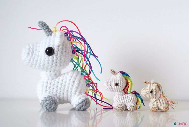 Amigurumi Unicorn - FREE Crochet Pattern / Tutorial | CROCHET ...