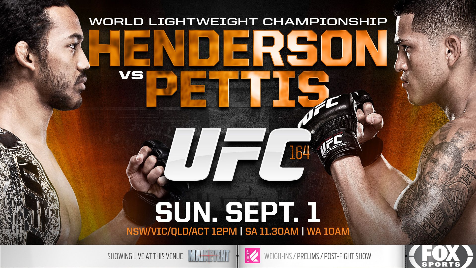Wallpaper for UFC 164 Ufc, Ufc boxing, Full show