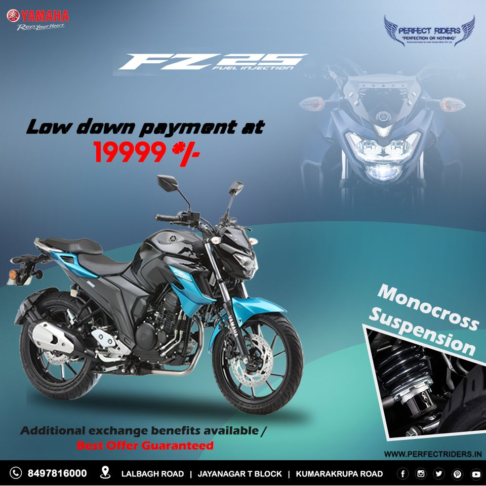 The All New Yamaha Fz 25 Ride The Force Within Book Now Call